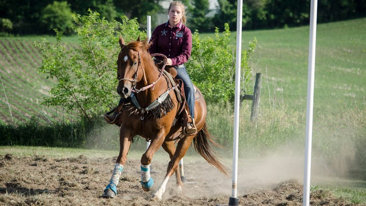 Northside Middle Schooler's passion brings her to rodeo nationals