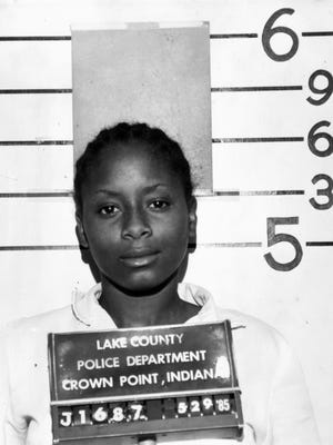 Paula Cooper, shown here in a mugshot photo taken on May 29, 1985, was convicted in the killing of Ruth Pelke on May 14, 1985.