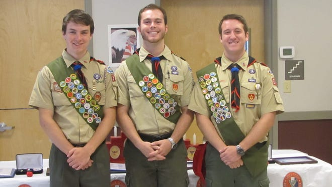 Three Mahopac Boy Scouts have attained the Eagle rank.