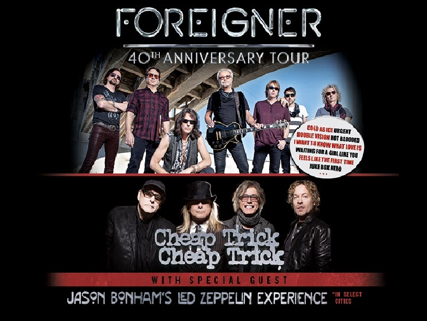 See Foreigner live in concert on August 24th at Ak-Chin Pavilion.
