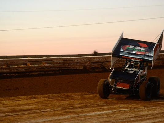 The All-Star Circuit of Champions took the track at Williams Grove on Friday night.