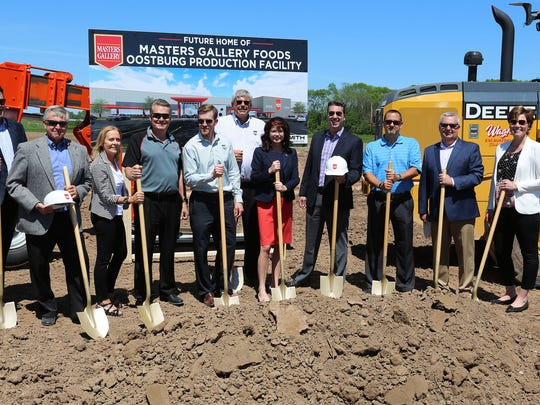 A groundbreaking is held at the new Master Gallery