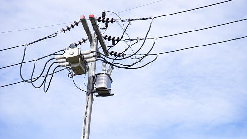 Power was out for over 700 customers in Webster Friday.