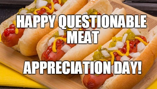 It's National Hot Dog Day!  Score some deals. WOOT WOOT.