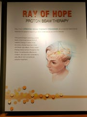 A poster at Mayo Clinic in Rochester, Minnesota, describes