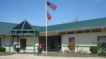 Two juveniles started a Sunday crime spree by breaking into the Yellville-Summit Middle School through an unlocked window. The crime spree included theft of technology items from the school, two vehicles, one crash and a confession to surprised law enforcement officials who had no idea any of the incidents had occurred.