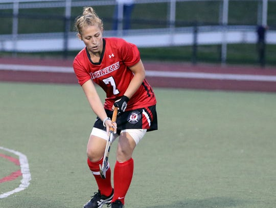 Whitney Point graduate Taylor Clink has five goals