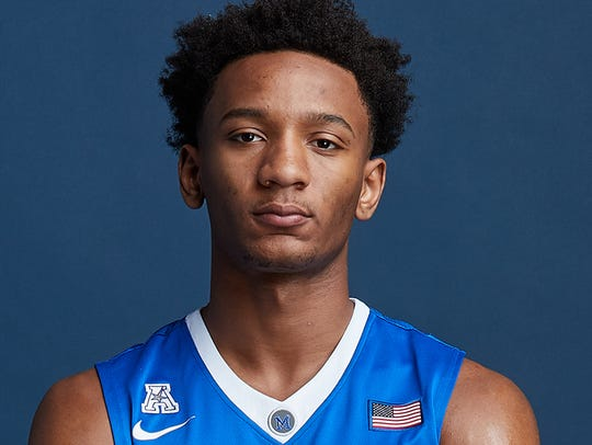 Memphis freshman Jamal Johnson