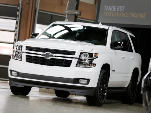 Chevrolet Adds Performance Model For Tahoe Suv