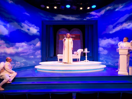 """An Act of God"" plays through Dec. 23 at George Street Playhouse in New Brunswick."