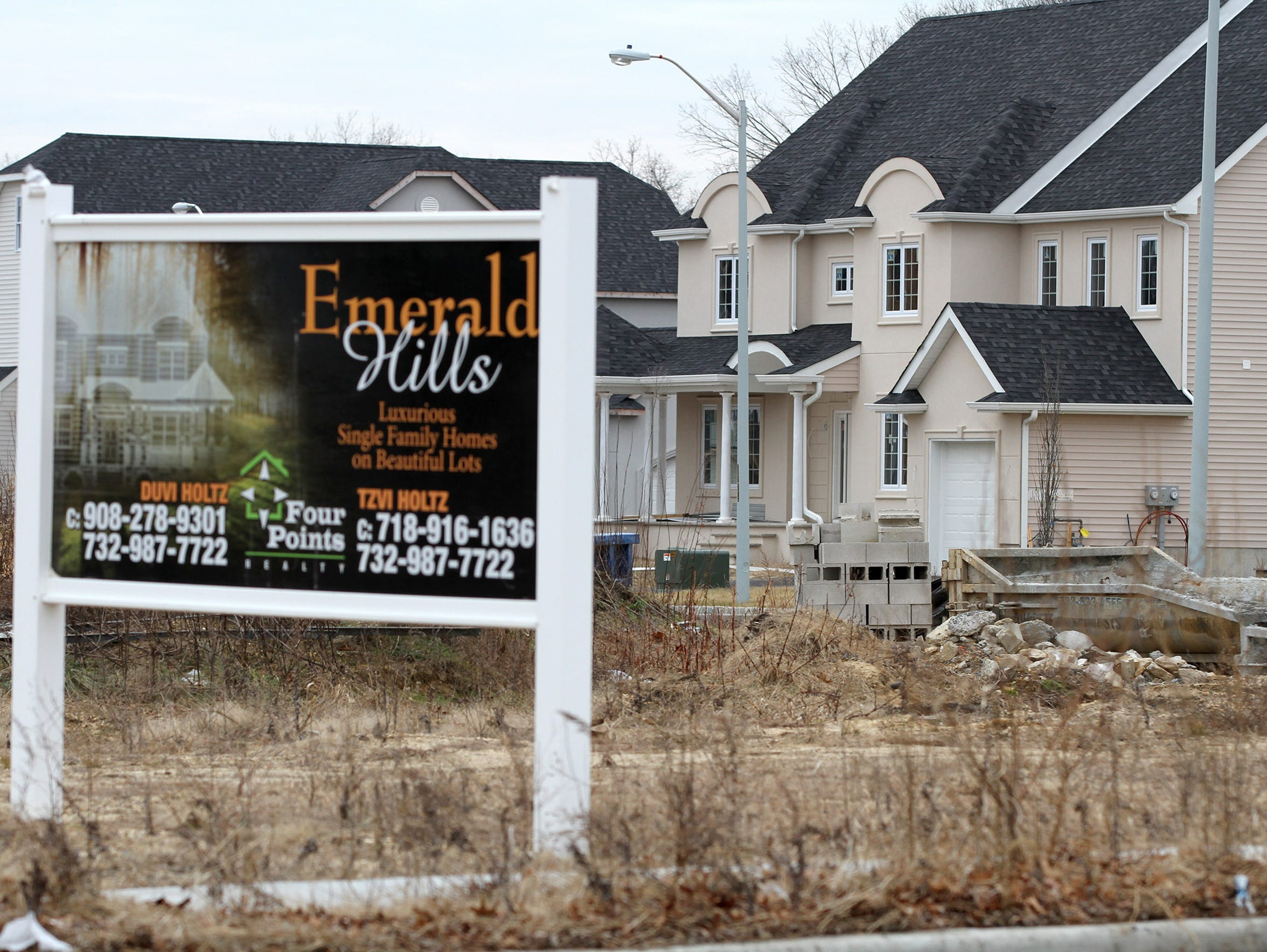 The Emerald Hills subdivision, off East County Line