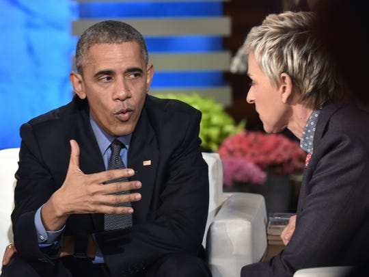 President Obama appeared as a guest on 'The Ellen DeGeneres