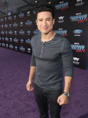 """Mario Lopez attends the premiere of """"Guardians of the"""