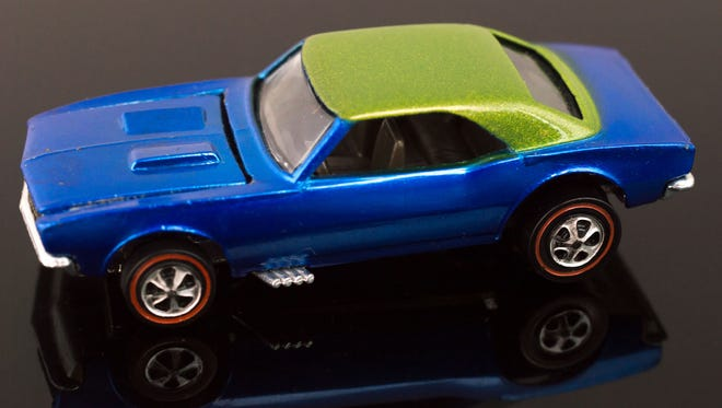 This unique 1967 Hot Wheels Redlines Custom Camaro sold for $3,250 at a recent auction.