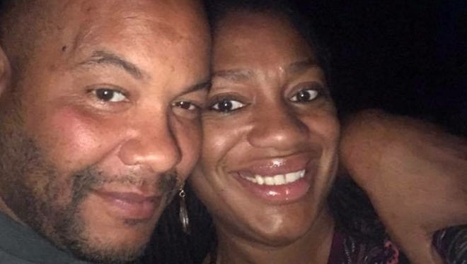 Brian Harris (left) was killed by a hit-and-run driver Friday in Indianapolis.