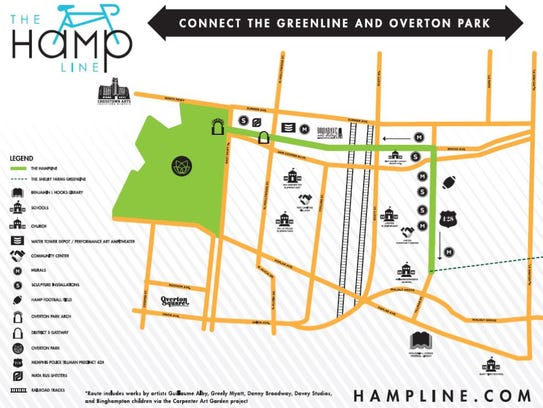 The Hampline will connect the Shelby Farms Greenline