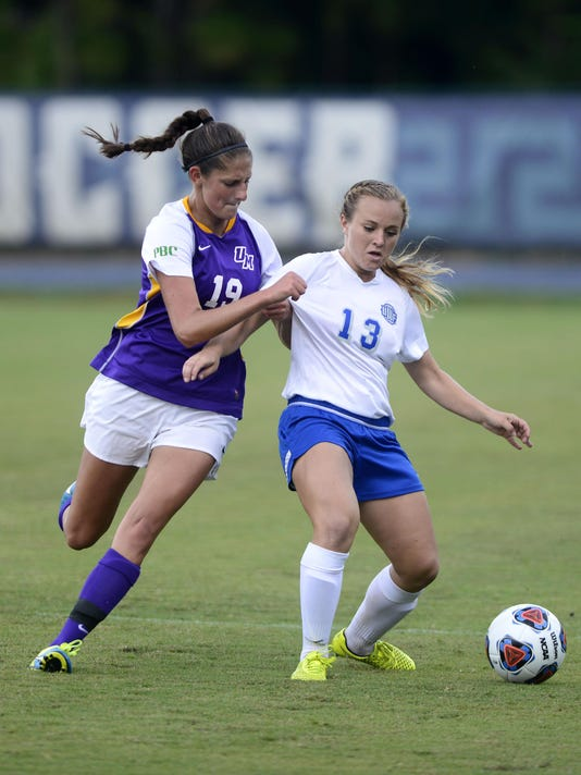 UWF women soccer take on Montevallo Falcons