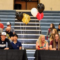 PREP SPORTS: RHS student athletes sign letters of intent