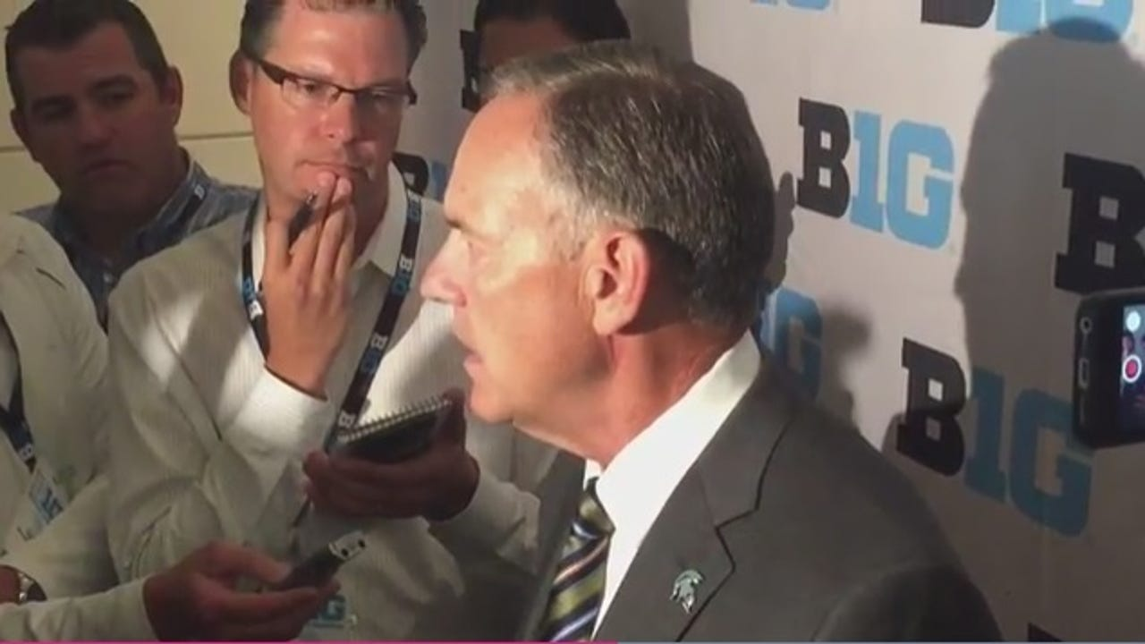 Spartans coach Mark Dantonio talks about last year's letdown and what has to happen in order to have a championship season.