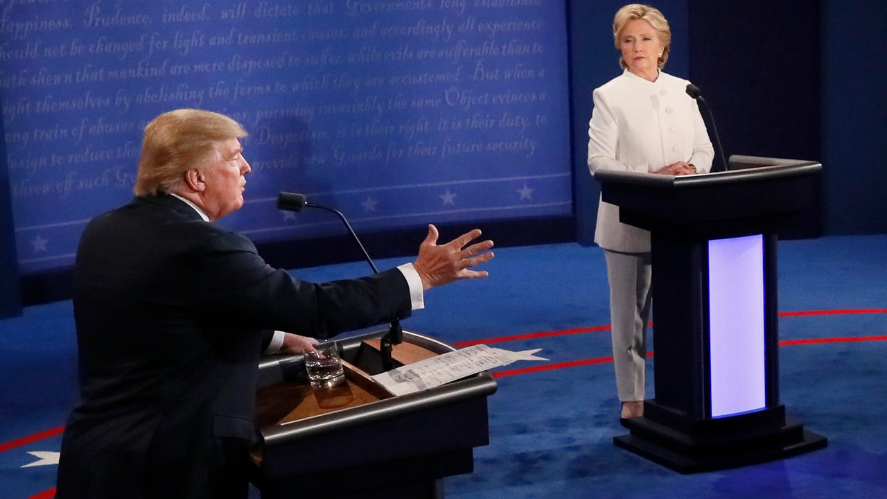 Fact check: Trump and Clinton's debate claims