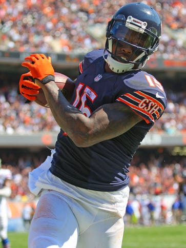 WR Brandon Marshall is a five-time Pro Bowler.