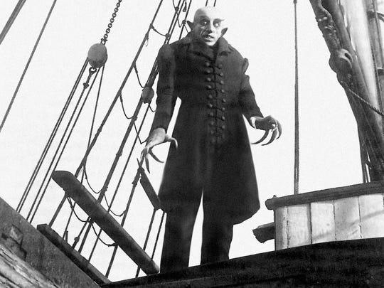 """Max Schreck as Count Graf Orlok in Friedrich Wilhelm Murnau's 1922 film """"Nosferatu."""""""