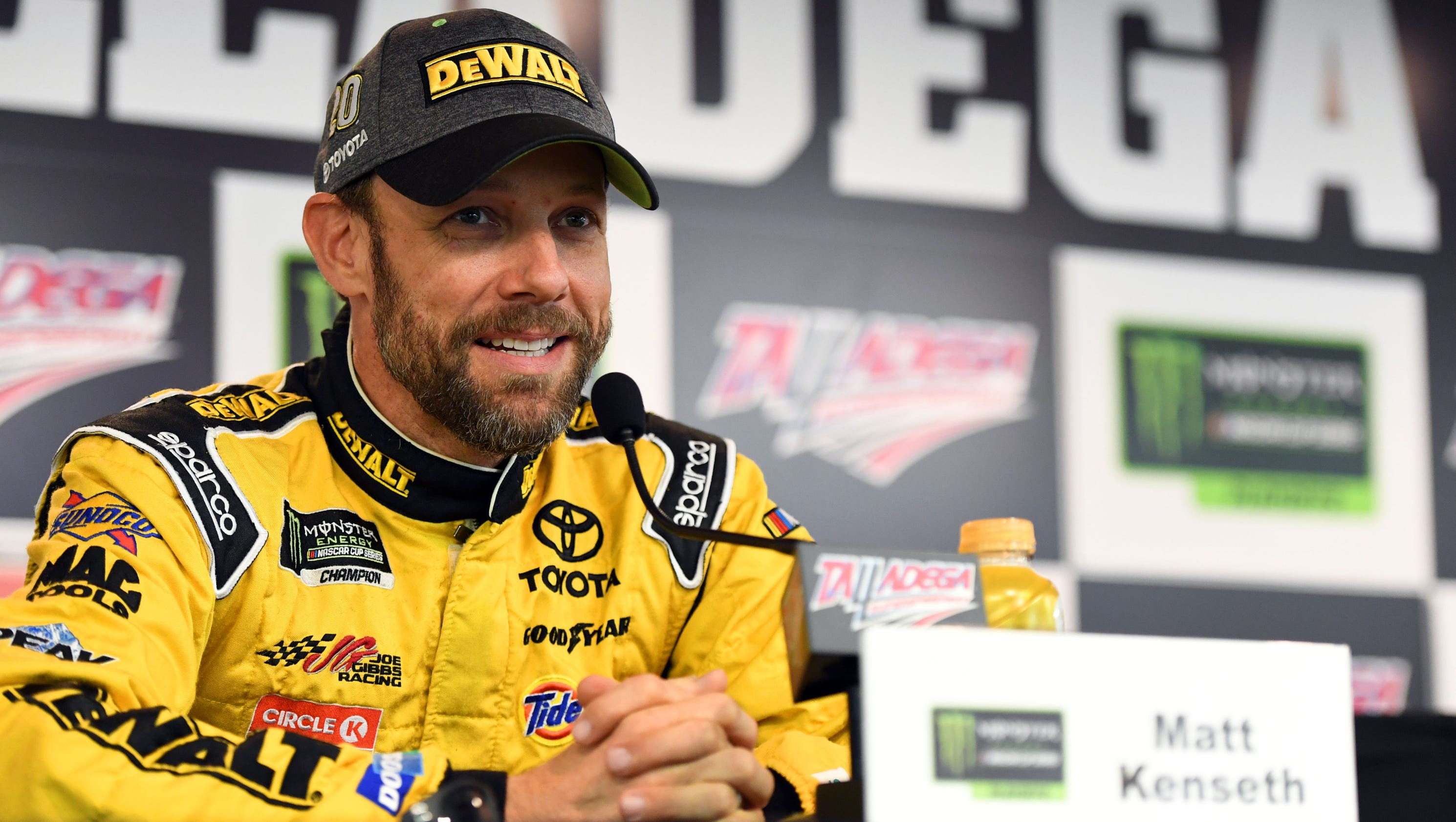 Matt Kenseth redirects talk of his NASCAR future with humor