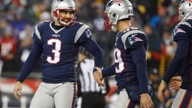 Stephen Gostkowski, a Madison native and kicker for the New England Patriots, hopes to win another Super Bowl on Sunday.