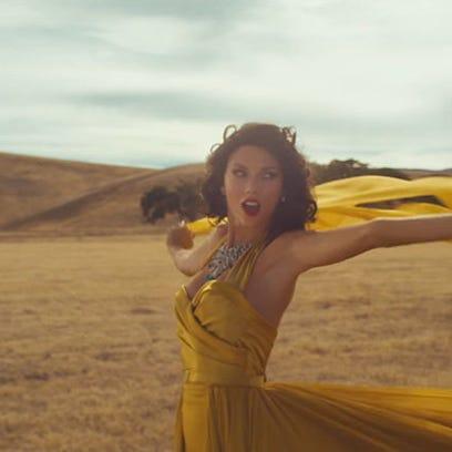 Screenshot from Taylor Swift's 'Wildest Dreams' video.
