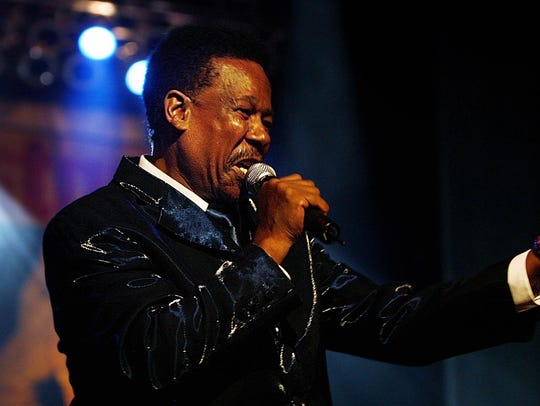 Eddie Floyd performs during the Stax 50th anniversary concert in 2007 in Memphis.
