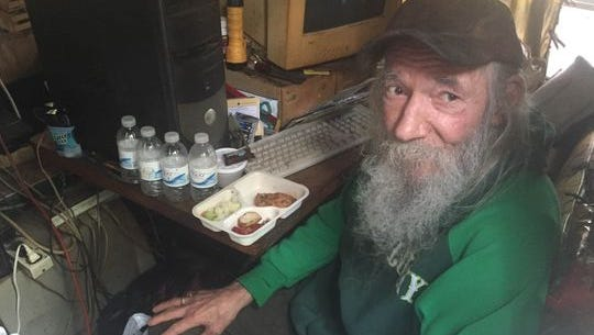 """""""It's hard to explain. Just pretty awesome,"""" Hasse said, reacting to strangers helping him out via GoFundMe."""