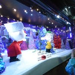 Macy's is one of several New York City department stores with lavish holiday windows.