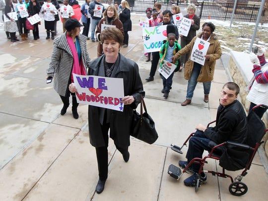 Cincinnati Public Schools superintendent Mary Ronan