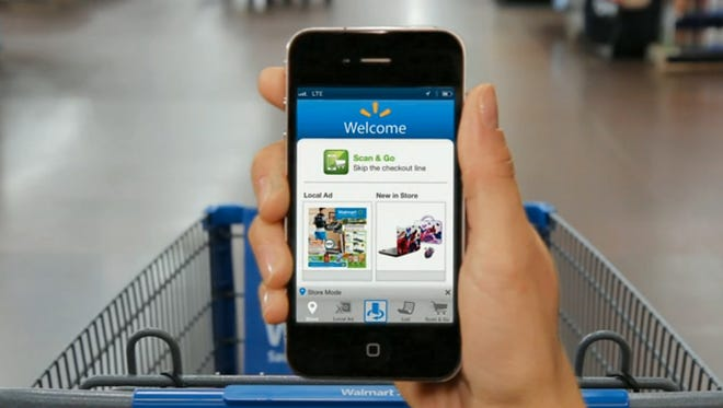 Walmart Pay allows customers to pay for items in stores with their smartphone through the Walmart app.