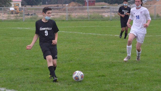 The Fennville soccer team won its district opener.
