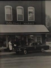The Golfdale Market in Franklin Village, circa 1955.