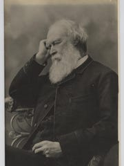 This late 19th century studio portrait depicts Rowland