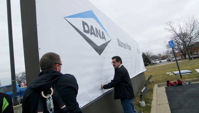 Dana Inc. in Warren sent workers home at noon Wednesday after learning an employee there had tested positive for coronavirus.