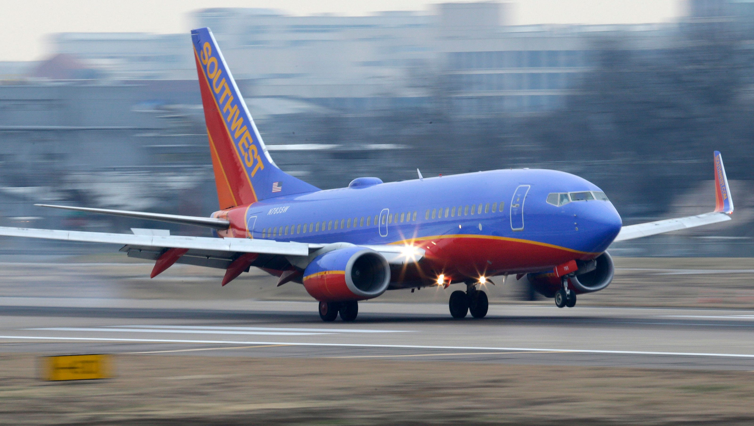 Southwest Airlines first international flights take off