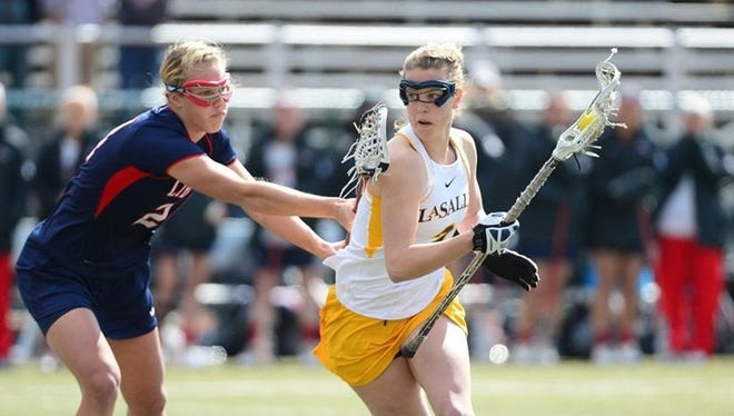 Brostrand stands out for La Salle