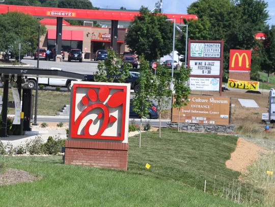 Chick-fil-A at Frontier Center on Richmond Avenue in
