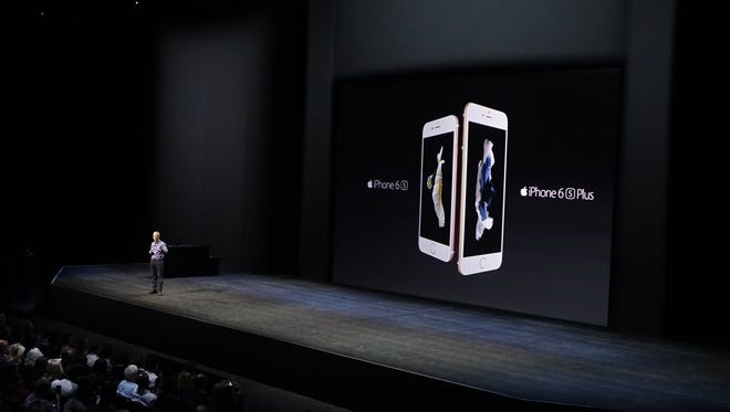 Apple introduces the new iPhone 6S and 6S Plus.