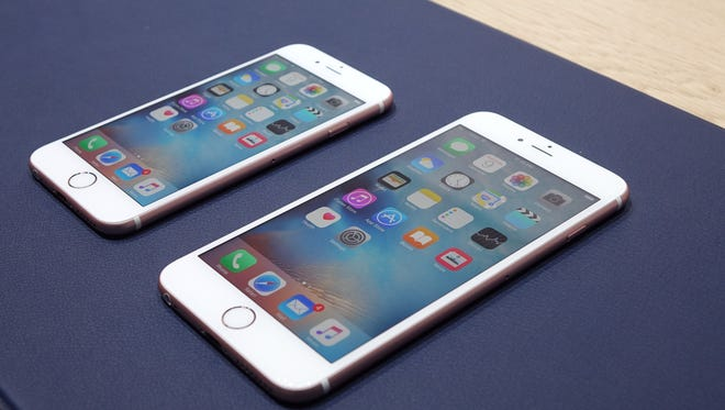 iPhone 6S and 6S Plus from Apple's event in San Francisco.