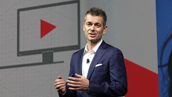 YouTube chief business officer Robert Kyncl