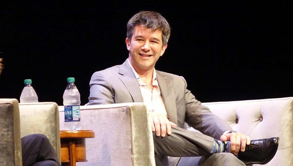 Uber CEO Travis Kalanick at UCLA