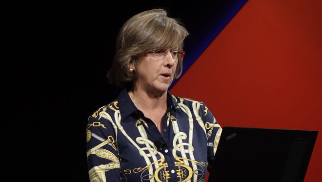 Mary Meeker at Code Conference, June 2016, in Rancho Palos Verdes, Calif.