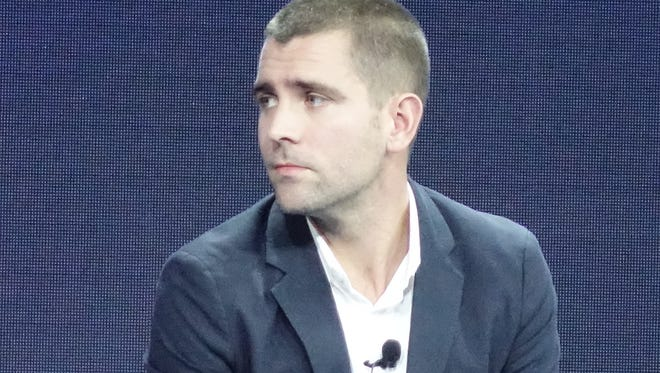 Facebook chief product officer Chris Cox speaks at Wall Street Journal WSJ D conference.