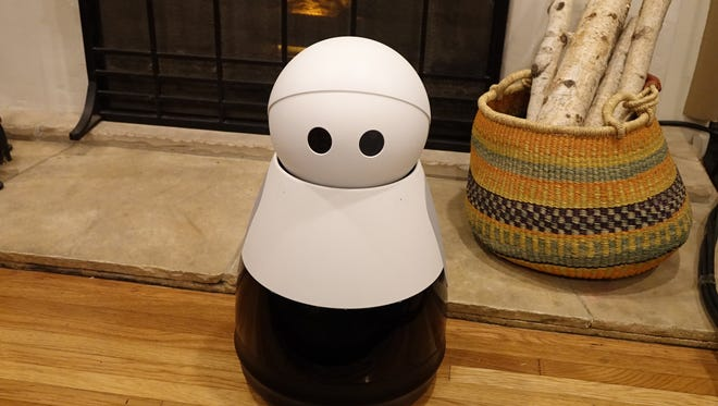 Kuri, a home robot being launched at the 2017 Consumer Electronics Show by Mayfield Robotics.