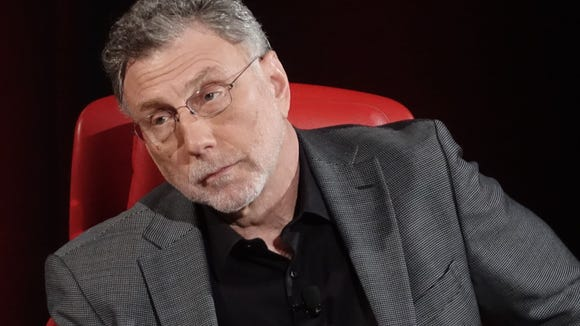 Washington Post editor Marty Baron spoke at the Code