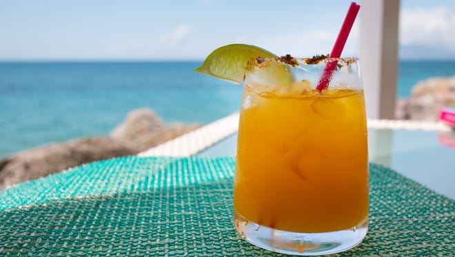 Or try the Mango Mary, a tropical twist on a bloody, rimmed in jerk seasoning. For dinner, book the five-course food and rum pairing for proof the popular liquor can match an array of foods, from sticky, sweet ribs to pineapple dessert.
